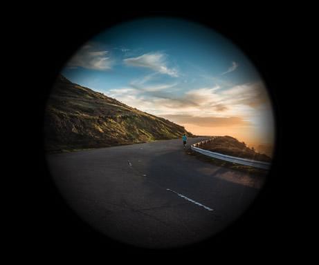 Visão Normal X Visão com Glaucoma